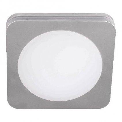 LED Koupelnové stropní zápustné svítidlo Luxera DOWNLIGHT 48604 6W 500lm 4000K IP44 8,2cm chromové