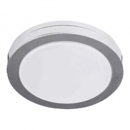 LED Koupelnové stropní zápustné svítidlo Luxera DOWNLIGHT 48605 6W 500lm 4000K IP44 8,2cm chromové