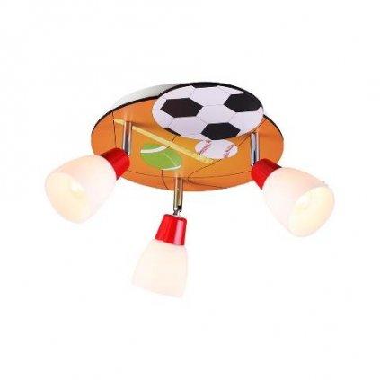 Dětské stropní přisazené svítidlo Luxera BALLIN 28036 E14 3x40W IP20 32cm vícebarevné