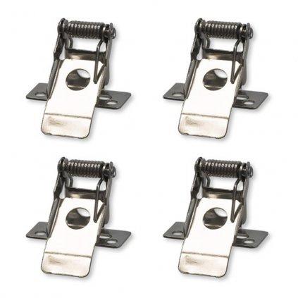Montážní klipy Solight WO903 pro instalaci LED panelů 60x60, 30x120 a 60x120cm do podhledů, 4ks v balení