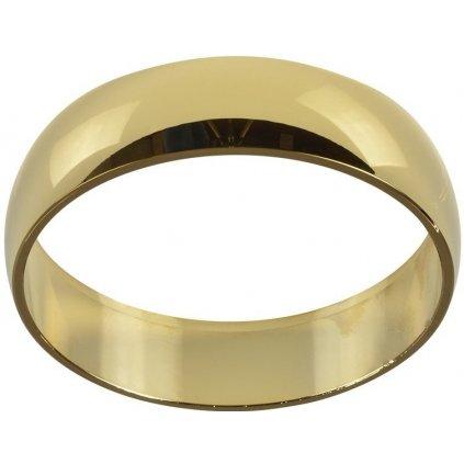 Dekorační kroužek Azzardo Adamo Ring gold AZ1486 zlatý