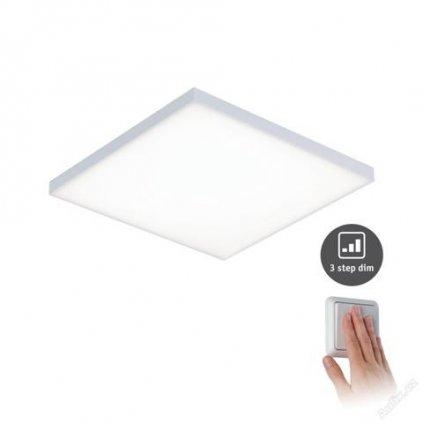 LED Bezrámečkový přisazený panel Velora P 79821 17W, 1600lm, 3000K, IP20, 295mm, 3-krokové stmívání, matně bílý