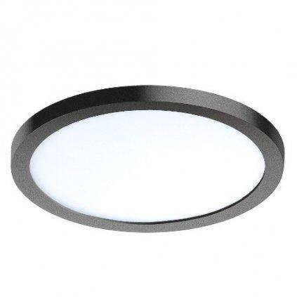 LED Stropní zápustné bodové svítidlo Azzardo Slim 15 Round 3000K IP44 black AZ2840 12W 1000lm 3000K IP44 14,5cm kulaté černé