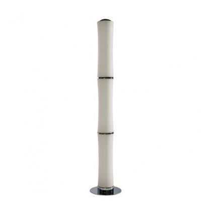 LED Stojací lampa Azzardo Bamboo floor white AZ1899 72W 6120lm 3000K IP20 13cm bílá stmívatelná
