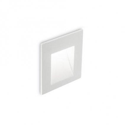 LED Nástěnné zápustné svítidlo Ideal Lux BIT BIANCO 3000K 269023 3W 215lm 3000K IP65 6,5cm bílé