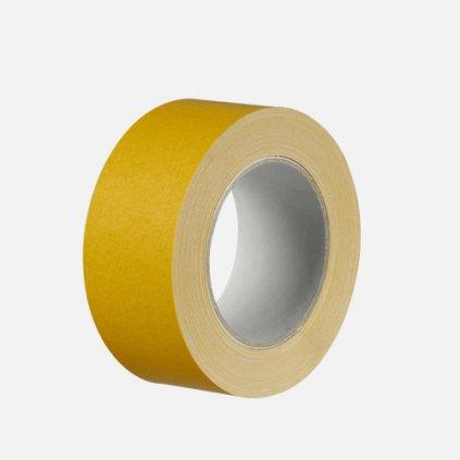 Den Braven - Fixační páska na fólie, 50 mm x 25 m, textilní nosič, bílá