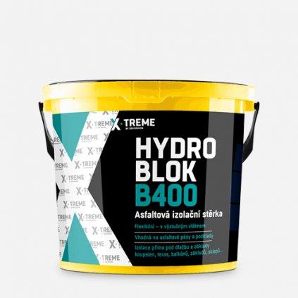 Den Braven - Asfaltová izolační stěrka HYDRO BLOK B400, kbelík 10 kg, černá