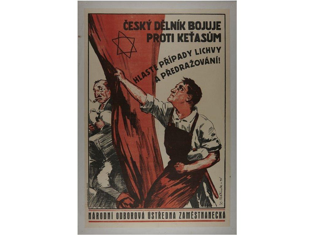 český dělník bojuje