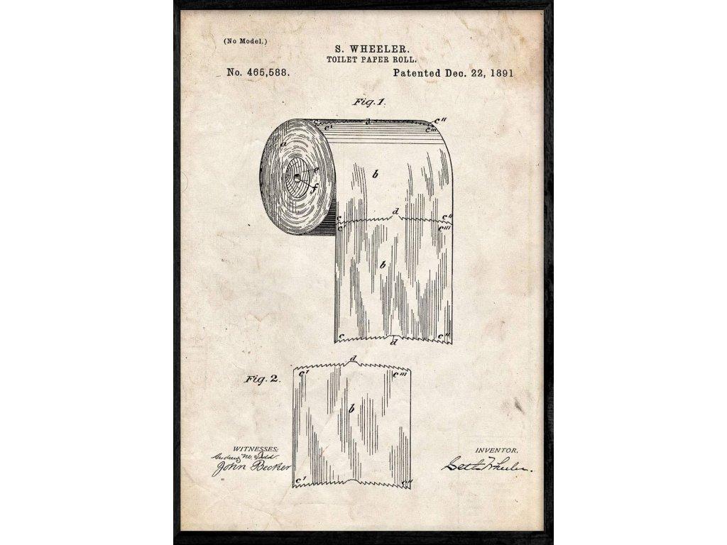 patent na toaletní papír