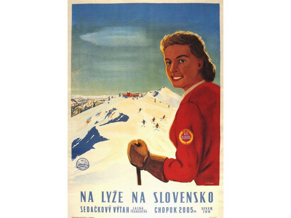 na lyže na slovensko