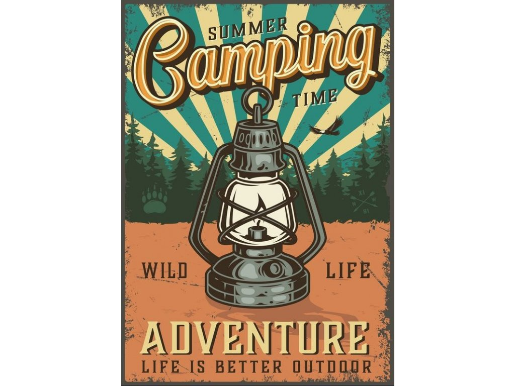 summer camping time