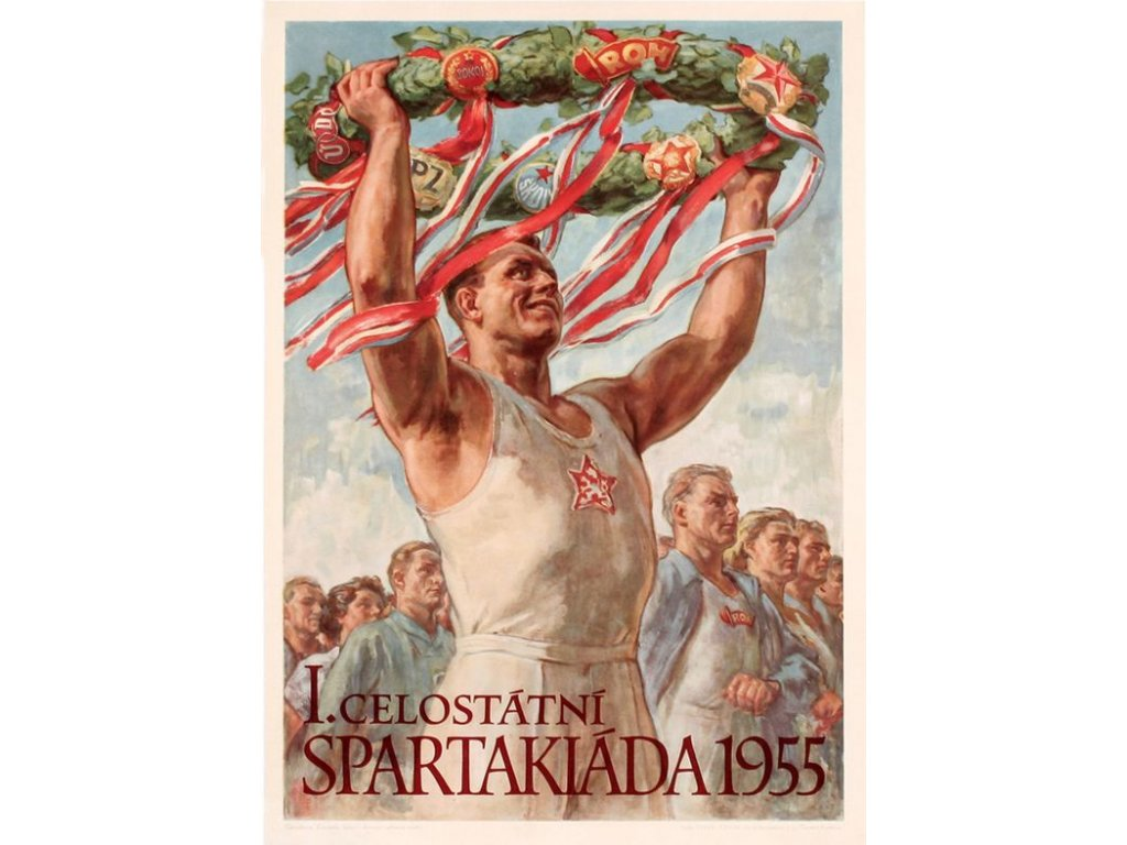 spartakiáda 1955