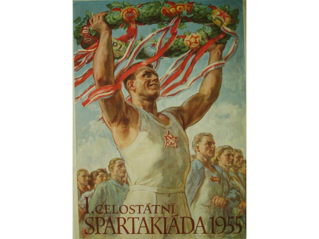 celostátní spartakiáda 1955