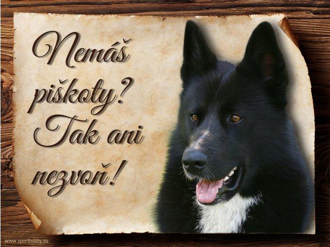 445 Cedulka Karelský medvědí pes II