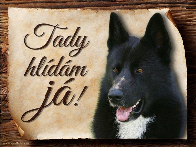 443 Cedulka Karelský medvědí pes II