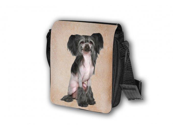 Taška Čínský chocholatý pes T038