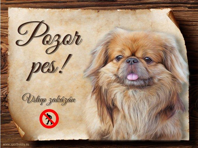 902 Cedulka Pekingský palácový psík