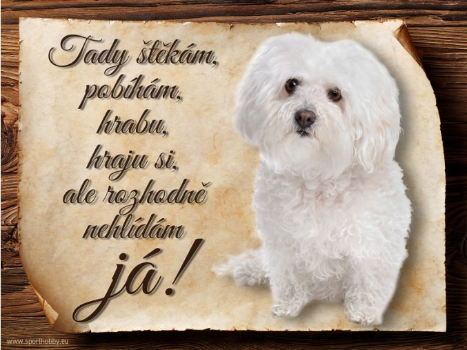 939 Cedulka Boloňský psík