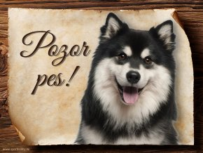 693 Cedulka Finský laponský pes