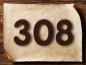 2017 Domovní číslo kulaté písmo