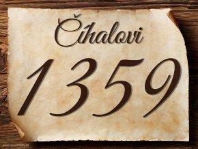 2021 Domovní číslo příjmení