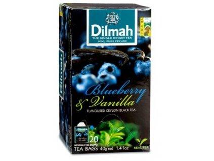Dilmah Gourmet Blueberry & Vanilla, čaj černý, borůvka a vanilka