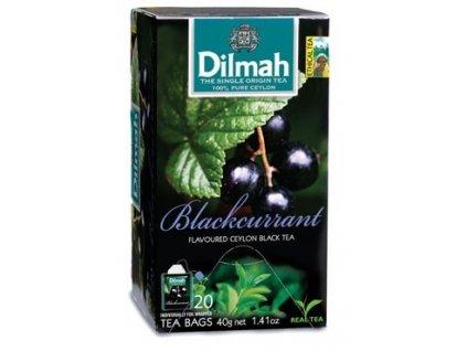 Dilmah Gourmet Blackcurrant, čaj černý, černý rybíz