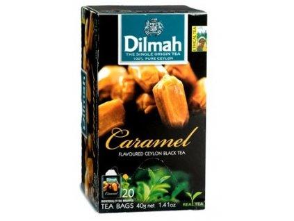 Dilmah Gourmet Caramel, čaj černý, karamel
