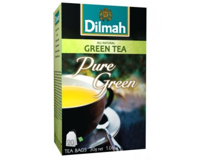 Dilmah Gourmet Pure Green, čaj pravý zelený