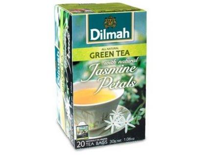 Dilmah Gourmet Jasmine Petals, čaj zelený s jasmínovými květy