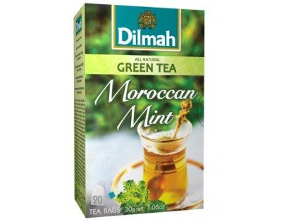 Dilmah Gourmet Moroccan Mint, čaj zelený, marocká máta