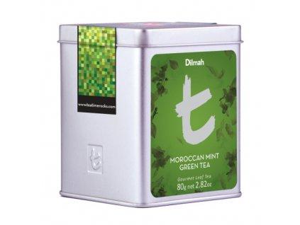 Dilmah T-Caddy Moroccan Mint Green Tea, čaj zelený, marocká máta
