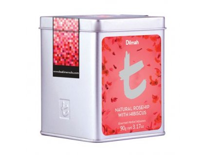 Dilmah T-Caddy Natural Rosehip with Hibiscus