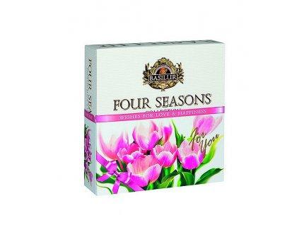 Basilur dárková sada Four Seasons For You, 40 sáčků