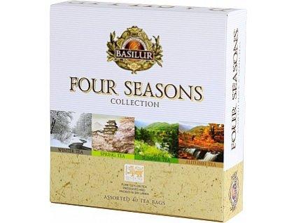 Basilur dárková sada Four Seasons, 40 sáčků
