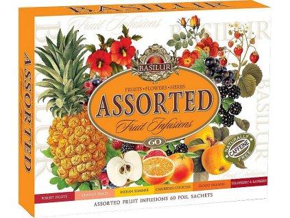 Basilur dárková sada Fruit Infusions, 60 sáčků
