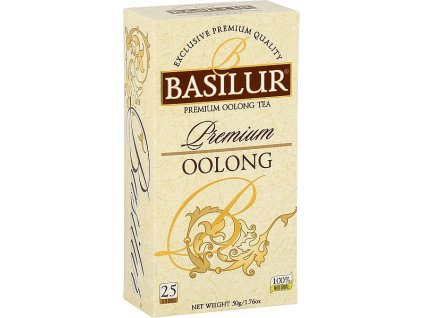 Basilur Premium Oolong, čaj oolong