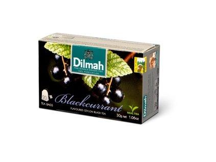 Dilmah Blackcurrant, čaj černý, černý rybíz