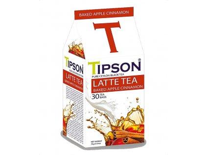Tipson Latte Tea, Baked Apple Cinnamon, černý čaj, pečené jablko