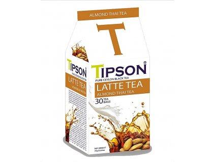 Tipson Latte Tea, Almond Thai Tea, černý čaj, thajský mandlový