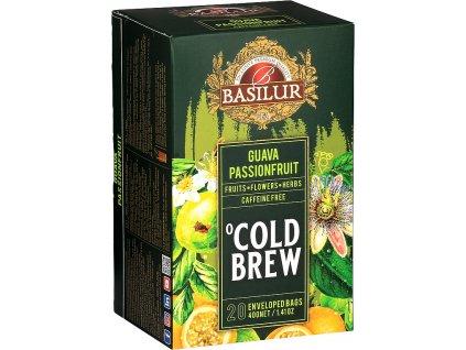 Basilur Cold Brew Guava Passionfruit, ledový čaj, guava, mučenka