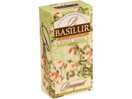 Basilur Bouquet White Magic, čaj oolong
