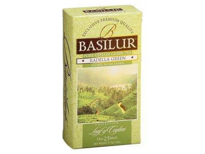 Basilur Leaf, region Randella, zelený čaj