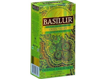 Basilur Oriental Green Valley, zelený čaj