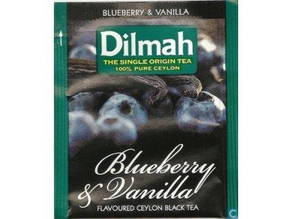 Dilmah Blueberry & Vanilla, čaj černý, borůvka a vanilka