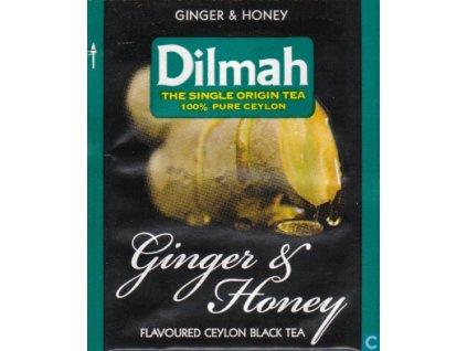 Dilmah Ginger & Honey, čaj černý, zázvor a med