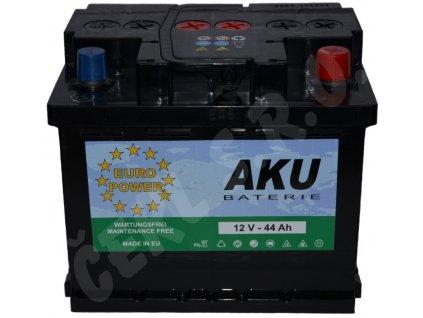 Autobaterie  EURO POWER 44Ah