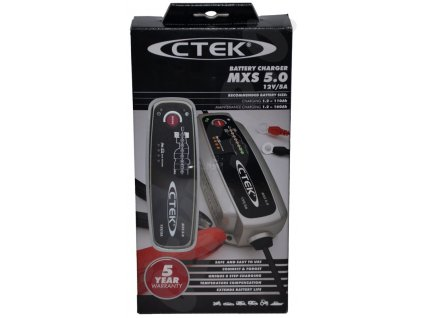 Nabíječka CTEK MULTI XS 5.0, 12V, 5A NEW