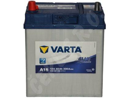 Autobaterie VARTA Blue dynamic 40Ah L , A15 (Asia Typ)