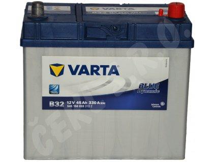Autobaterie VARTA Blue dynamic 45Ah , B32 (Asia Typ)